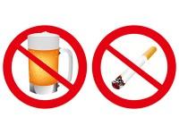 お酒とタバコ 悪いのはどっち?