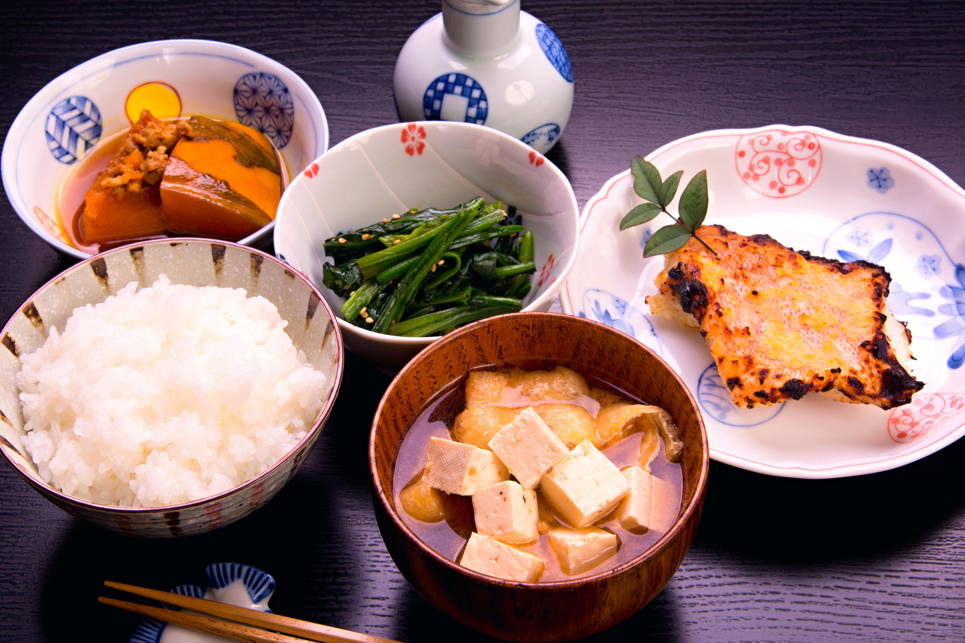 和食の基本「一汁三菜」